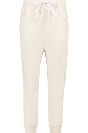 DKNY Cotton-jersey tapered pants