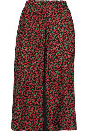 VANESSA SEWARD Floral-print silk culottes