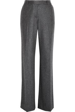VANESSA SEWARD Boy marled felted wool wide-leg pants