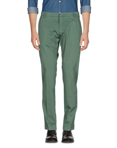 Фото - Повседневные брюки от MICHAEL COAL зеленого цвета