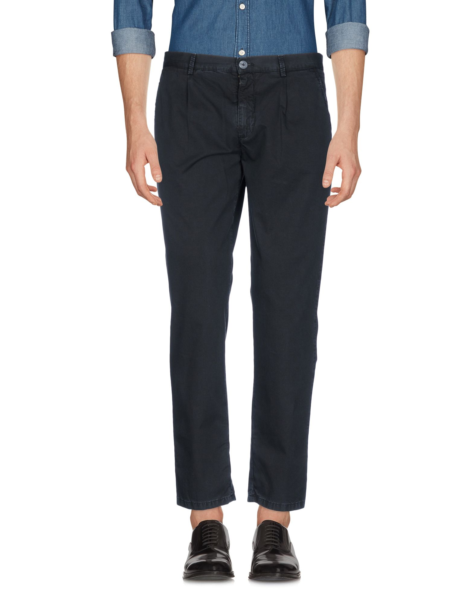 《送料無料》BASICON メンズ パンツ ブラック 44 コットン 100%