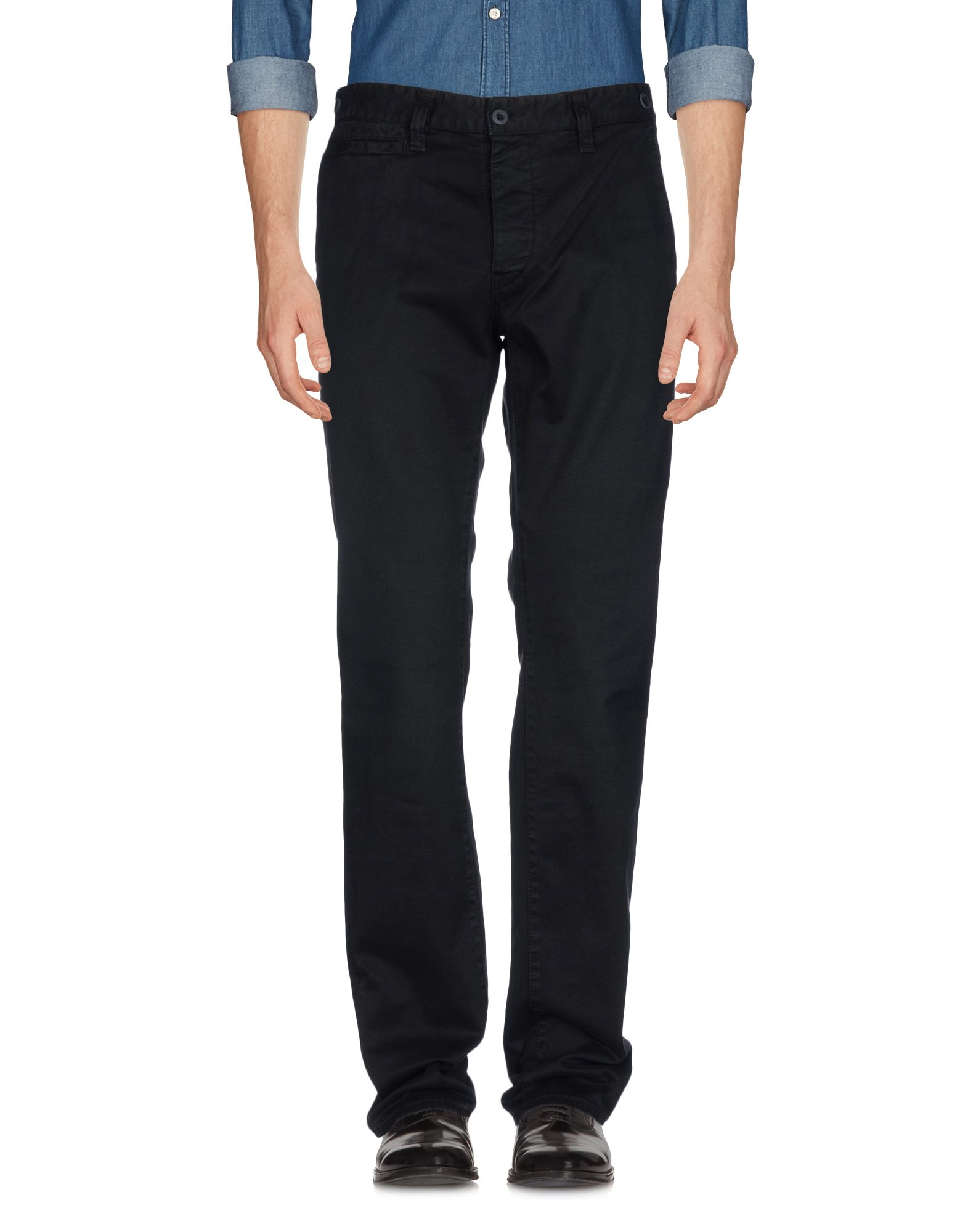《期間限定セール開催中!》JFOUR メンズ パンツ ブラック 34 コットン 98% / ポリウレタン? 2%