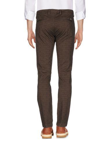 Фото 2 - Повседневные брюки от ENTRE AMIS коричневого цвета