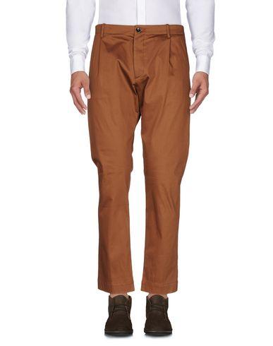 Фото - Повседневные брюки от NINE:INTHE:MORNING коричневого цвета