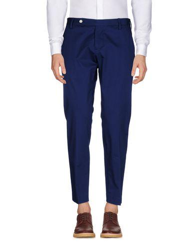 Фото - Повседневные брюки от ENTRE AMIS синего цвета