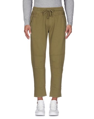 Фото - Повседневные брюки от PAOLO PECORA цвет зеленый-милитари