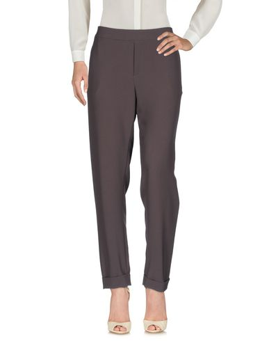 Фото - Повседневные брюки от P.A.R.O.S.H. свинцово-серого цвета