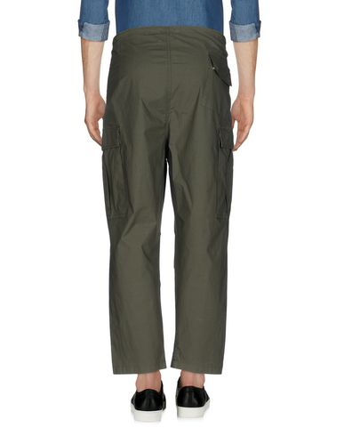 Фото 2 - Повседневные брюки от C.Y.H. CLAP YOUR HAND цвет зеленый-милитари