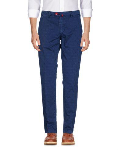 Фото - Повседневные брюки от BARONIO синего цвета