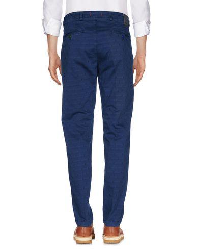 Фото 2 - Повседневные брюки от BARONIO синего цвета
