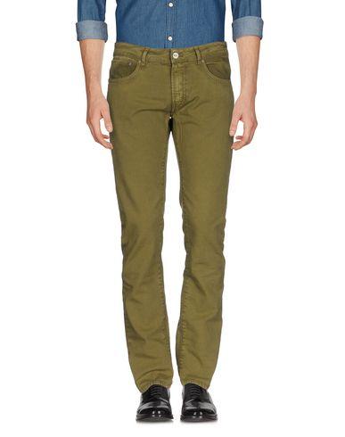 Фото - Повседневные брюки от PT05 цвет зеленый-милитари