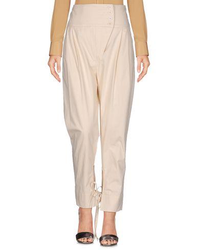 Купить Повседневные брюки от VIRNA DRÒ® цвет слоновая кость