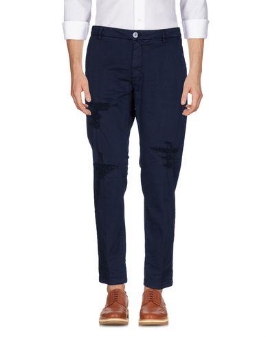Купить Повседневные брюки от AGLINI темно-синего цвета