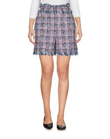 Купить Повседневные шорты от MSGM темно-синего цвета