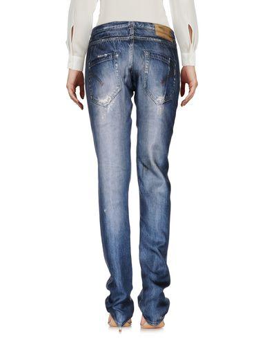 Фото 2 - Повседневные брюки синего цвета
