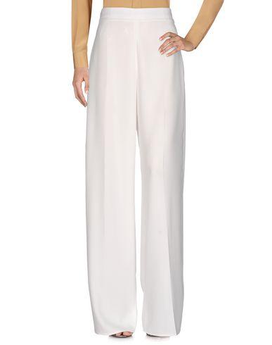 Фото - Повседневные брюки от ELISABETTA FRANCHI 24 ORE белого цвета