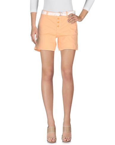 Фото - Повседневные шорты лососево-розового цвета