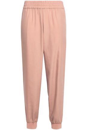 ALICE + OLIVIA Modal-blend tapered pants
