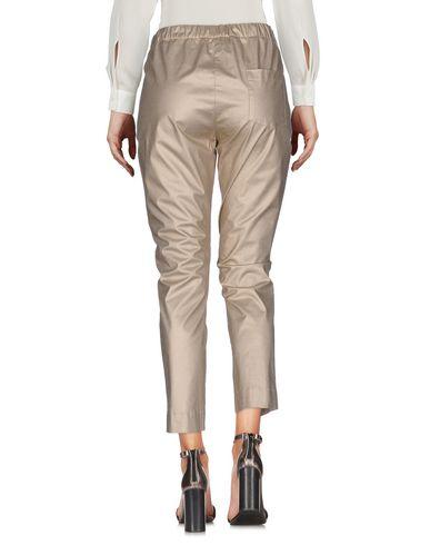 Фото 2 - Повседневные брюки от SIBEL SARAL золотистого цвета