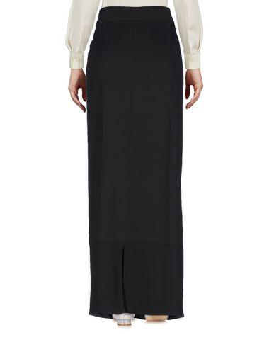 Фото 2 - Длинная юбка от FABIANA FILIPPI цвет стальной серый