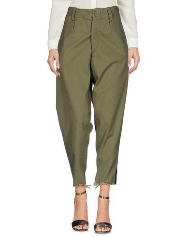 Фото - Повседневные брюки от MPD BOX цвет зеленый-милитари