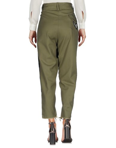 Фото 2 - Повседневные брюки от MPD BOX цвет зеленый-милитари