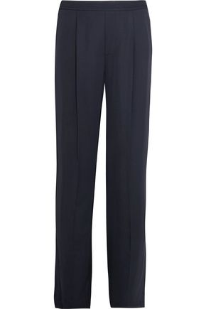 VINCE. Pleated cady wide-leg pants