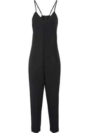 HATCH The Georgie crepe de chine jumpsuit