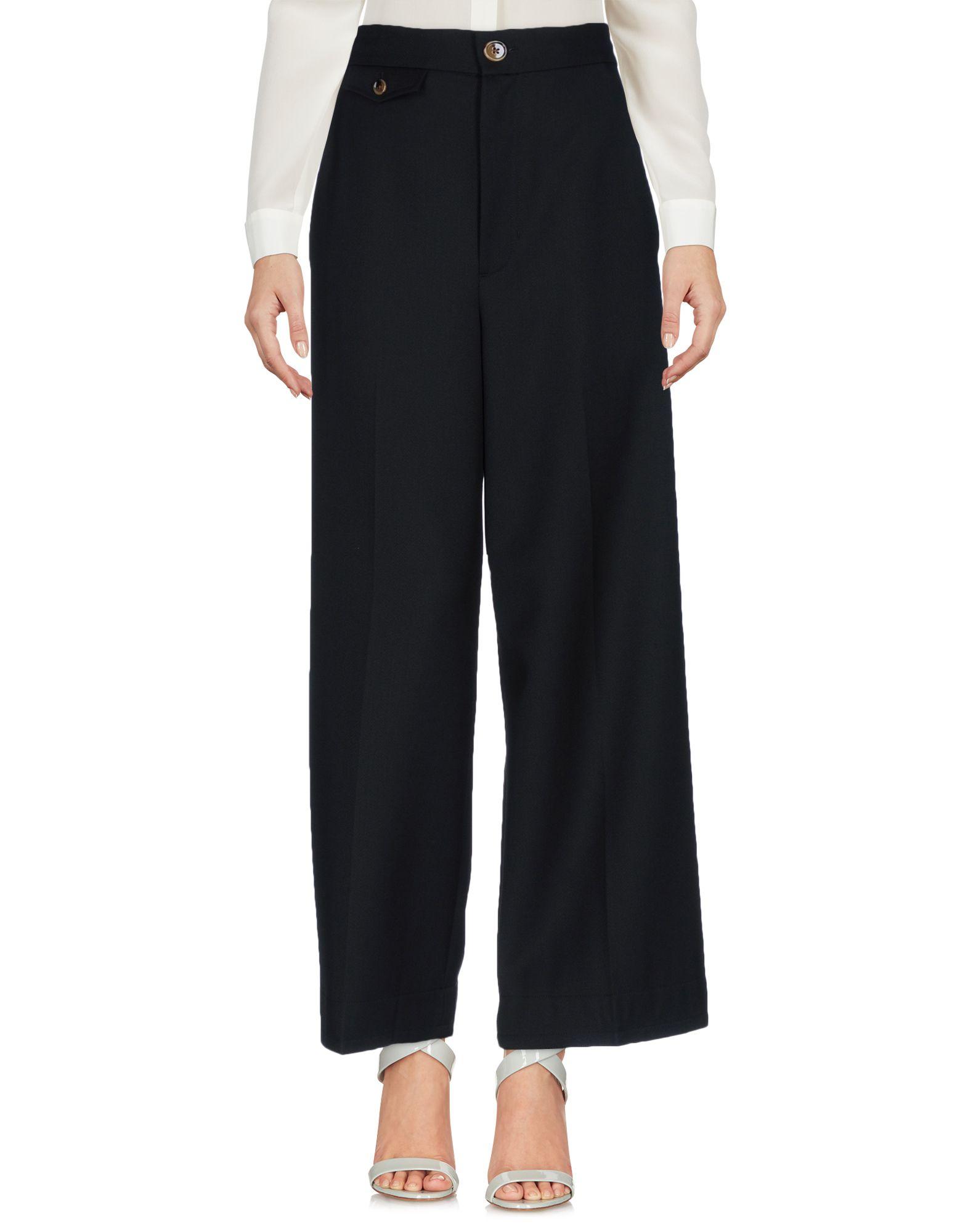 цена  HELMUT LANG Повседневные брюки  онлайн в 2017 году