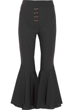 •ELLERY• Sin City crepe flared pants