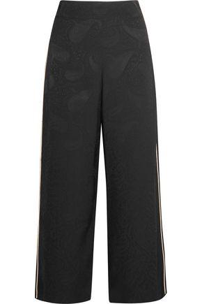 MAJE Jacquard wide-leg pants
