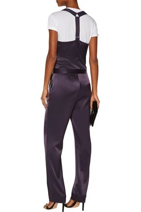 DEREK LAM 10 CROSBY Satin jumpsuit