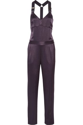 10 CROSBY DEREK LAM Satin jumpsuit