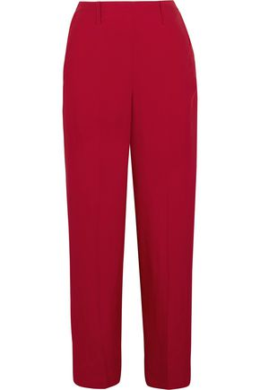 LEMAIRE Satin-twill wide-leg pants