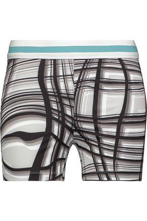 NO KA 'OI Haku printed stretch shorts