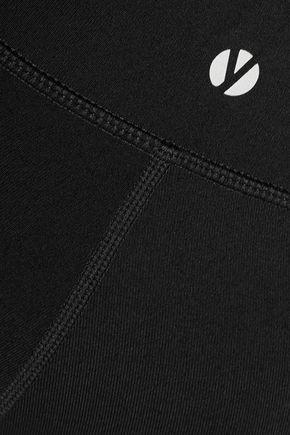 YUMMIE by HEATHER THOMSON® Lenox paneled stretch-jersey leggings