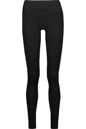 YUMMIE by HEATHER THOMSON® Lenox paneled stretch-jersey leggings