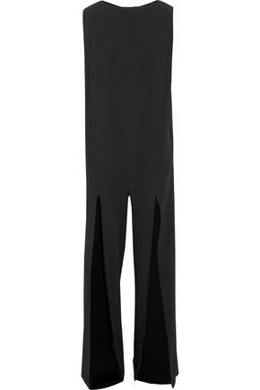 CHALAYAN Cutout draped crepe jumpsuit