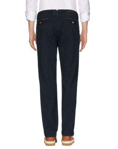 Фото 2 - Повседневные брюки от ELEVENTY темно-синего цвета