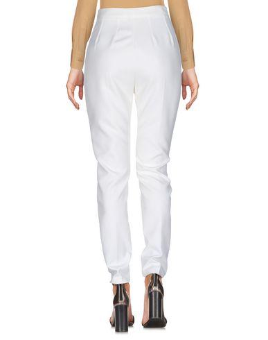 Фото 2 - Повседневные брюки от NORA BARTH белого цвета