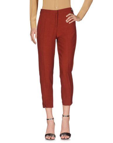 Купить Повседневные брюки от TWINSET кирпично-красного цвета