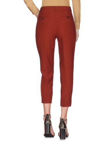Фото 2 - Повседневные брюки от TWINSET кирпично-красного цвета