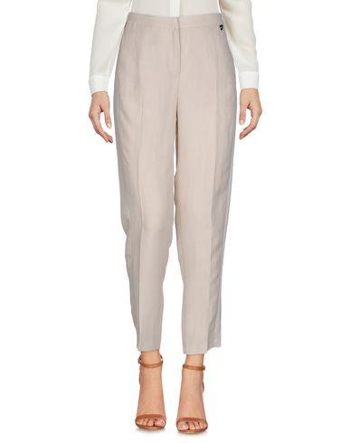 Фото - Повседневные брюки от TWINSET бежевого цвета