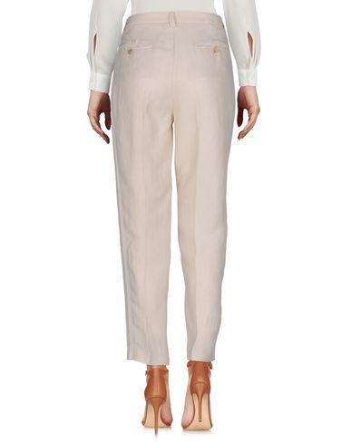 Фото 2 - Повседневные брюки от TWINSET бежевого цвета