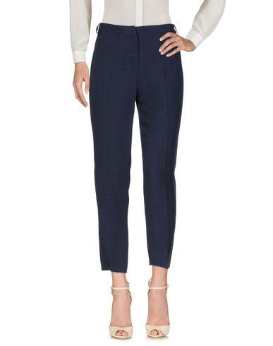 Фото - Повседневные брюки от TWINSET темно-синего цвета