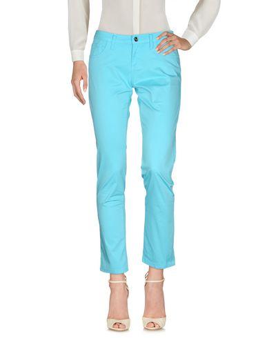 Фото - Повседневные брюки от BLUGIRL JEANS бирюзового цвета