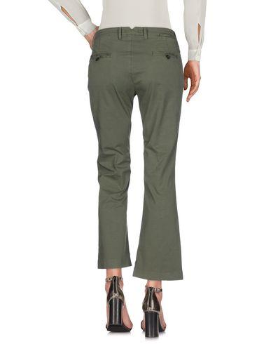 Фото 2 - Повседневные брюки от TRUE NYC. цвет зеленый-милитари