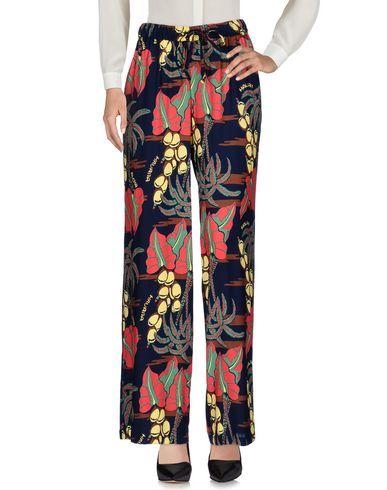 Купить Повседневные брюки от P.A.R.O.S.H. темно-синего цвета