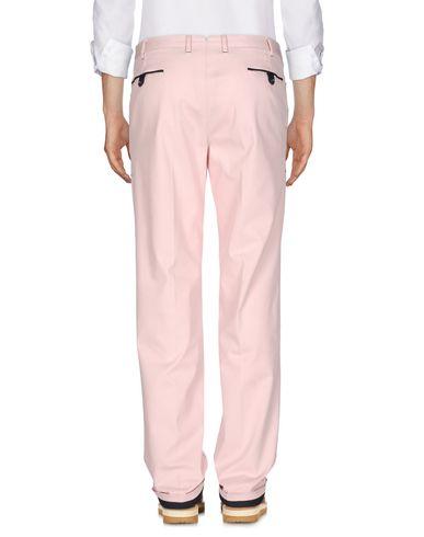 Фото 2 - Повседневные брюки от PT01 светло-розового цвета