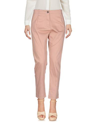 Фото - Повседневные брюки от NINE:INTHE:MORNING розового цвета